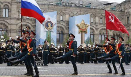 Триколор на Параде Победы 2020 года (иллюстрация из открытых источников)