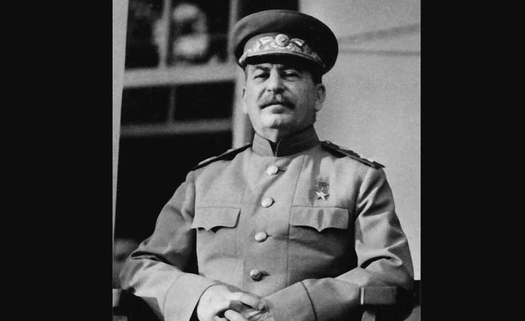 И.В. Сталин на Тегеранской конференции (иллюстрация из открытых источников)