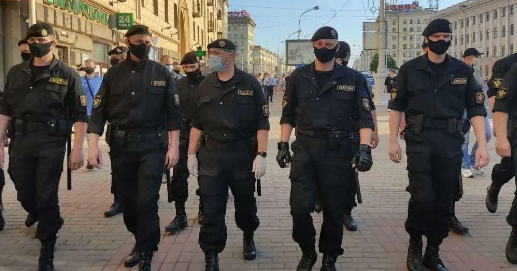 ОМОН, Минск, Белоруссия 2020 год (иллюстрация из открытых источников)