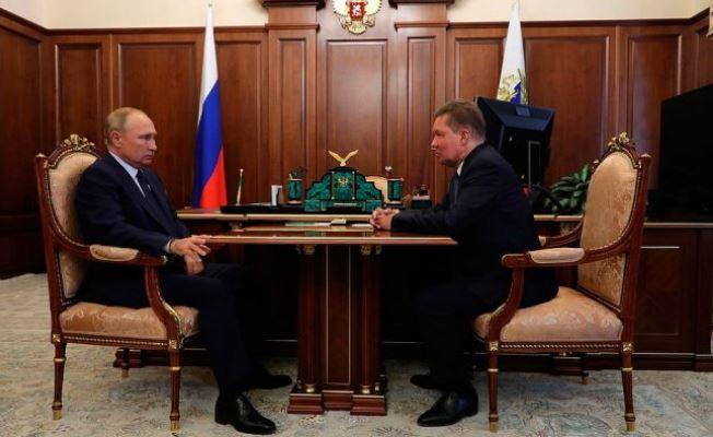 Президент РФ Владимир Путин и глава Газпрома Алексей Миллер. Фото kremlin.ru