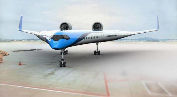 Самолёт Flying-V (иллюстрация из открытых источников)