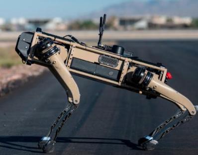 Собака-робот (фото CNN)