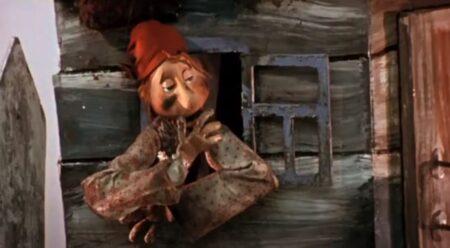 Кадр из мультфильма Федорино горе (1954), по одноимённой сказке К.Чуковского.