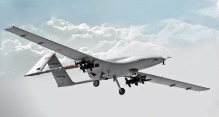 Турецкий боевой дрон «Байрактар-2» (иллюстрация из открытых источников)