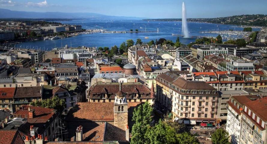 Женева (Швейцария) (иллюстрация из открытых источников)