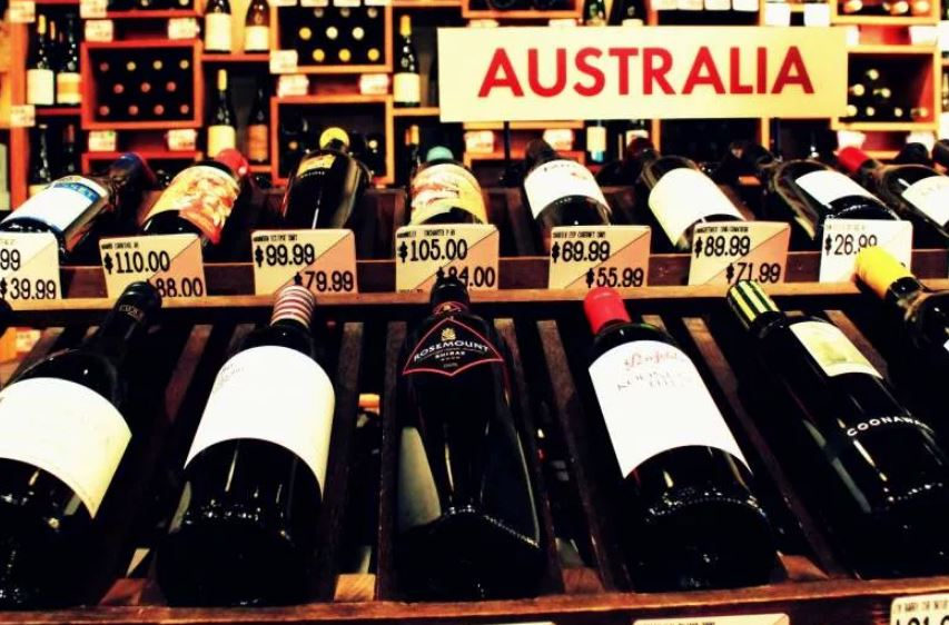 Вино из Австралии (иллюстрация из открытых источников)