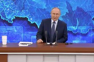 В.В. Путин на ежегодной пресс-конференции. 17.12.2020 г. (скриншот видео)