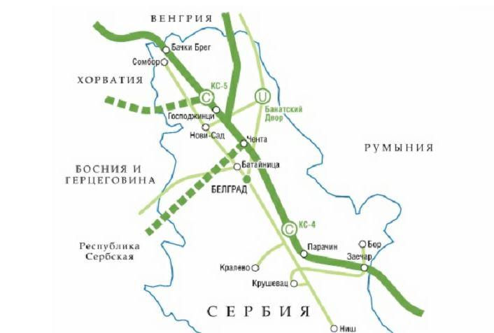 """Схема """"Балканского потока"""" (иллюстрация из открытых источников)"""
