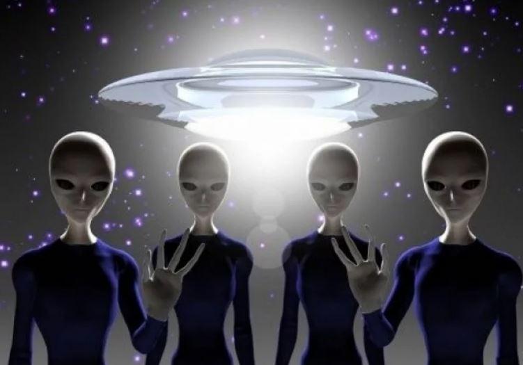 НЛО и инопланетяне (иллюстрация из открытых источников)