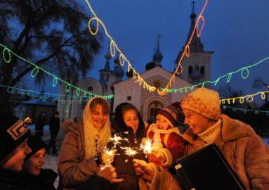 Православное Рождество (иллюстрация из открытых источников)