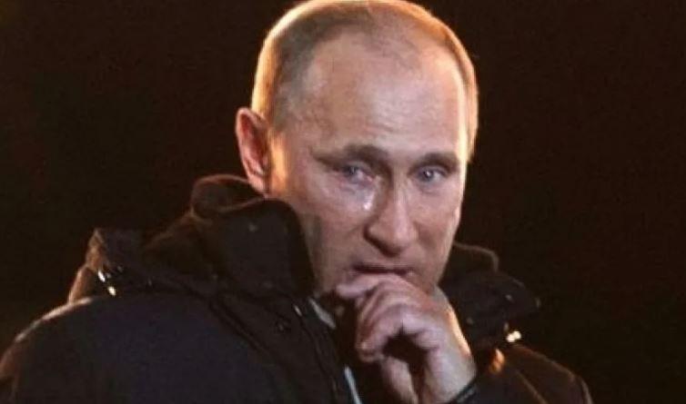 Путин на митинге после президентских выборов 2012 года (кадр-видео - иллюстрация из открытых источников)