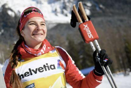 Российская лыжница Наталья Непряева (иллюстрация из открытых источников)