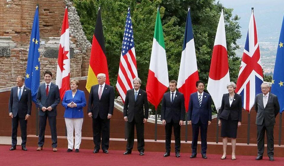 Саммит G7 (иллюстрация из открытых источников)
