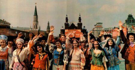 Дружба народов СССР (иллюстрация из открытых источников).