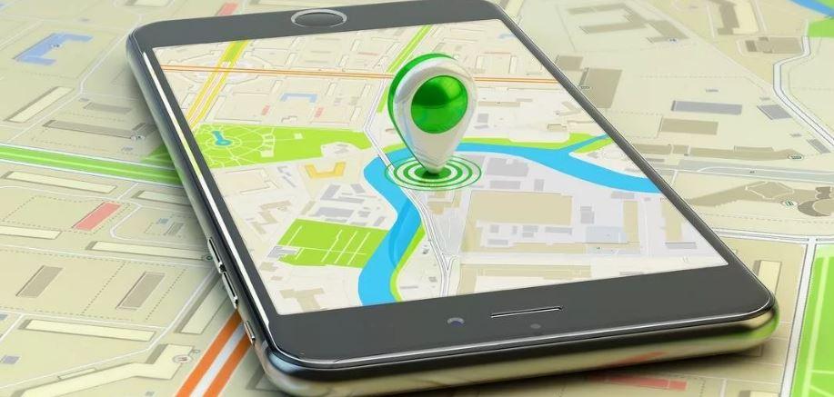Геолокация смартфона (иллюстрация из открытых источников)