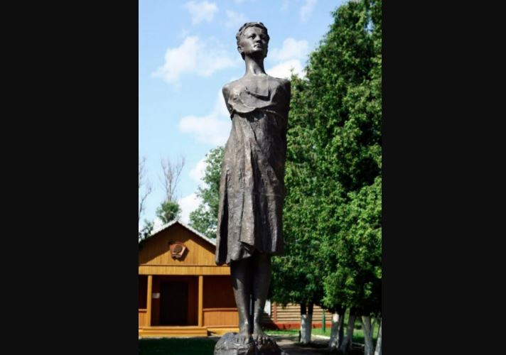 Памятник Зое Космодемьянской (иллюстрация из открытых источников)