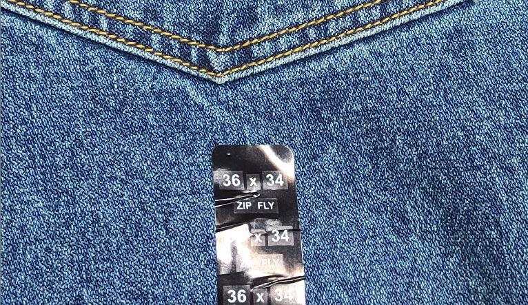 Как определить размеры джинсов (фото РОСГОД)