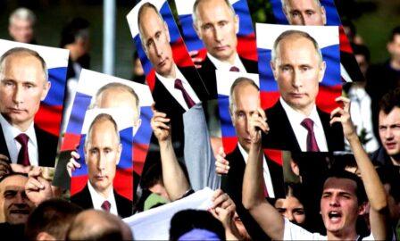 На выборы за Путина (иллюстрация из открытых источников)