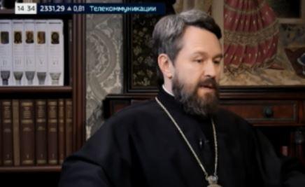 В РПЦ высказались о введении ковид-паспортов в ЕС (скриншот видео, передача «Церковь и мир»)