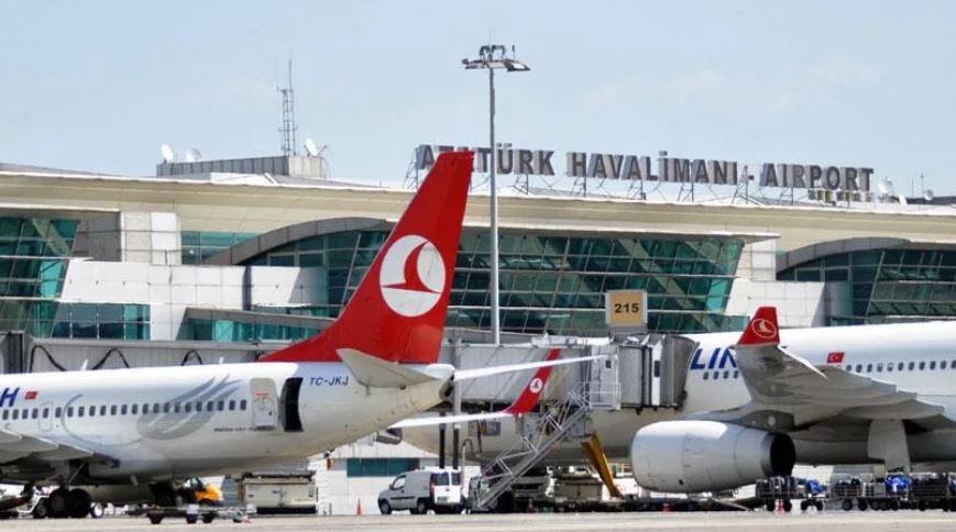 Аэропорт Ататюрк Турция (иллюстрация из открытых источников)