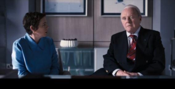 """Лучшим актёром по версии BAFTA стал Энтони Хопкинс (стоп-кадр фильма """"Отец"""")"""