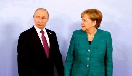 Путин обсудил с Меркель ситуацию в Донбассе (фото из открытых источников)