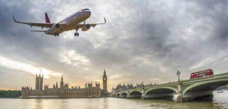 Россия вновь продлила ограничения на полёты в Великобританию (иллюстрация из открытых источников)