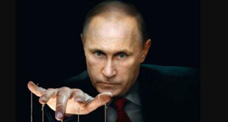 Владимир Путин (обложка журнала Экономист)