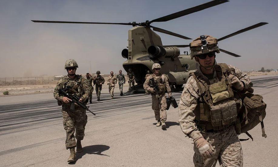 Военные США в Афганистане (иллюстрация из открытых источников)