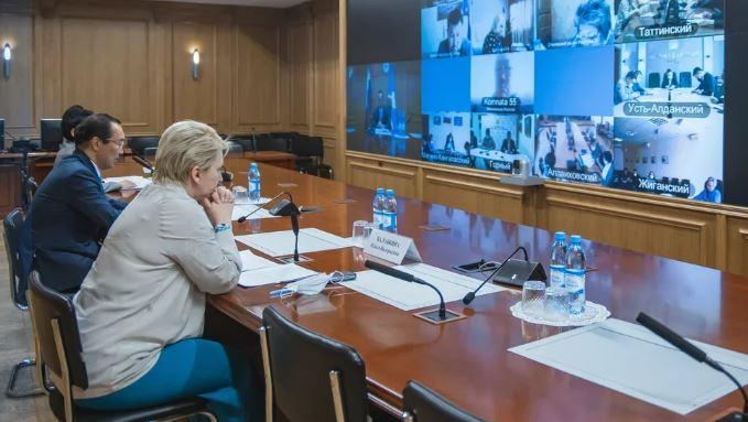 В Якутии введена обязательная вакцинация от COVID-19 (скриншот фото с сайта правительства Якутии)