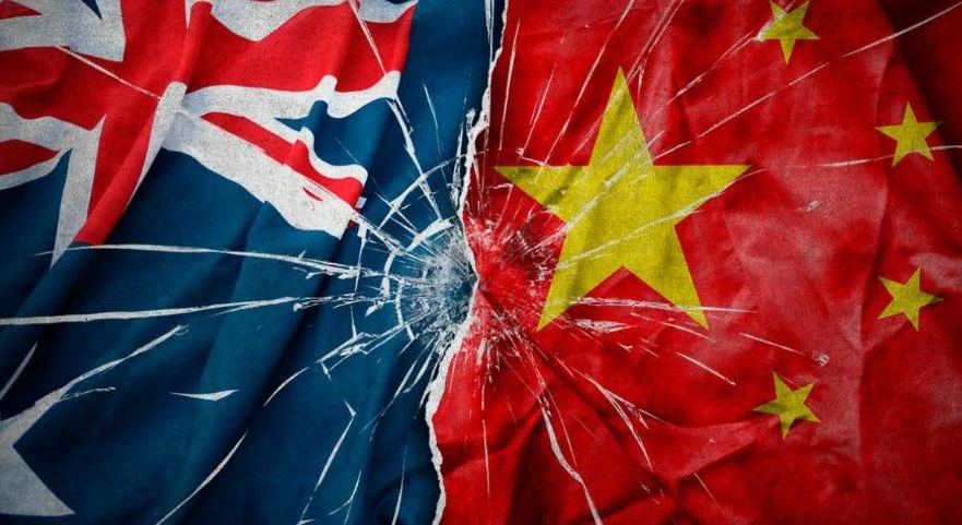 Австралия vs Китай. Китай выиграл (иллюстрация из открытых источников)