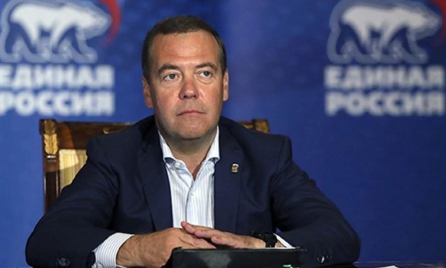 Дмитрий Медведев Единая Россия