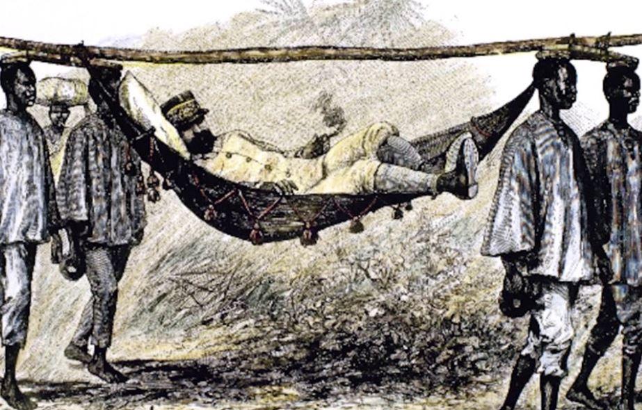Француз в Африке (иллюстрация из открытых источников)