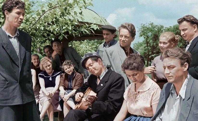 Кадр из фильма «Весна на Заречной улице»