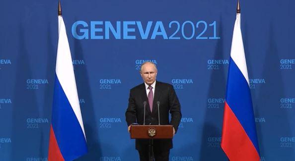 Кремль прокомментировал итоги переговоров в Женеве (скриншот видео с сайта Кремля)