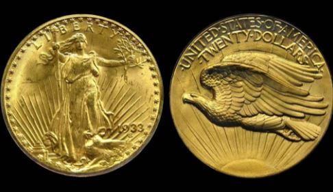 В США золотая монета продана за 19,5 миллионов долларов (иллюстрация из открытых источников)