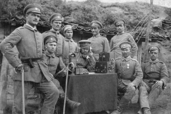 Болгарские военные, Первая мировая война (иллюстрация из открытых источников)