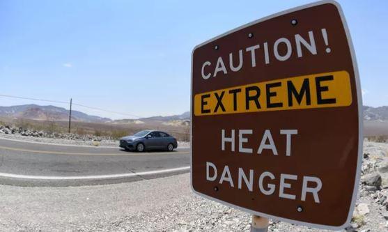 Долина смерти, Калифорния (иллюстрация - фото AFP)