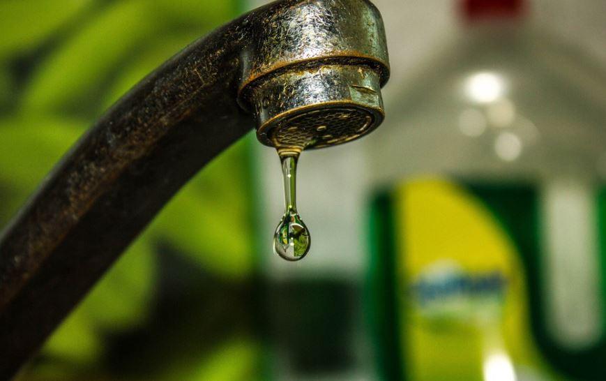 Кран с капающней водой (иллюстрация из открытых источников)