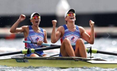 На Олимпиаде-2020 российские гребцы выиграли серебро (фото из открытых источников)