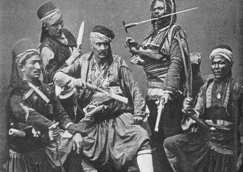Османские башибузуки не жалели ни болгарских детей, ни женщин, ни стариков (иллюстрация из октрытых источников)