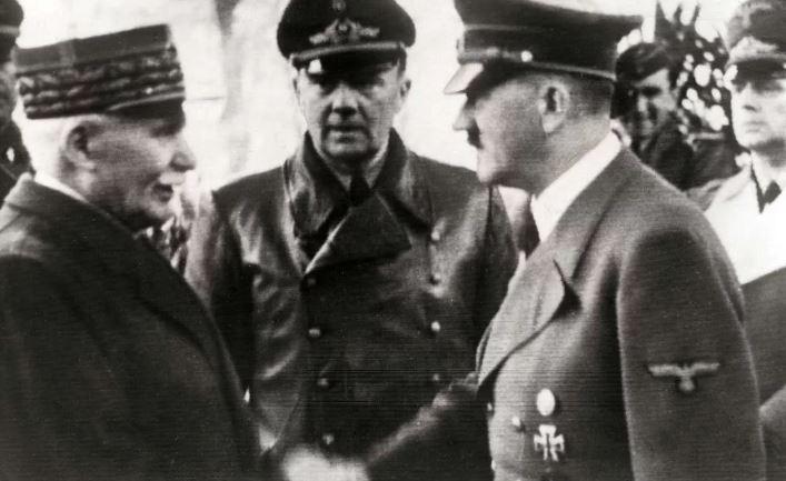 Петен и Гитлер (иллюстрация из открытых источников)