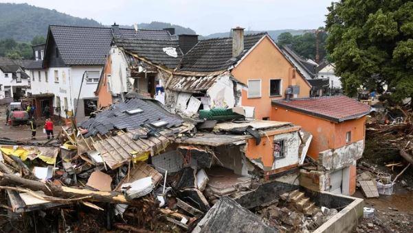 Последствия наводнения в Германии (иллюстрация - фото AFP)