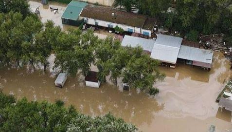На Кубани из-за стихийного бедствия введён режим ЧС (фото из открытых источников)