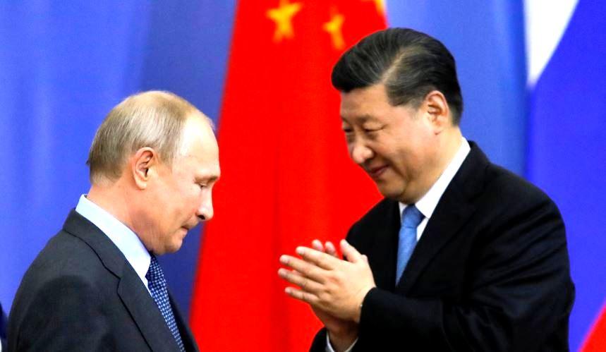Путин и Си Цзиньпин (иллюстрация из открытых источников)