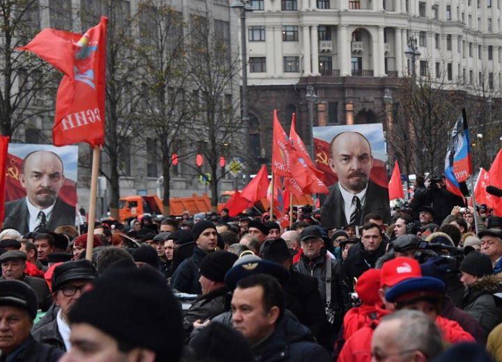 Марш 7 ноября 2017 года, Москва (иллюстрация из открытых источников)