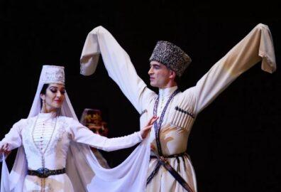 Осетинский ансамбль Алан (иллюстрация из открытых источников)