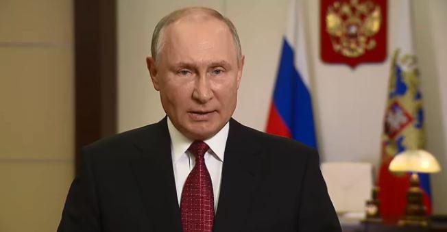 Путин обратился к россиянам в связи с выборами депутатов (скриншот видео с сайта Кремля)