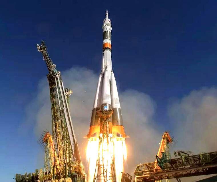 Старт ракеты с космодрома «Байконур» (иллюстрация из открытых источников)