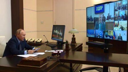 Жириновский призвал неугодных ссылать в Сибирь (скриншот видео с сайта Кремля)